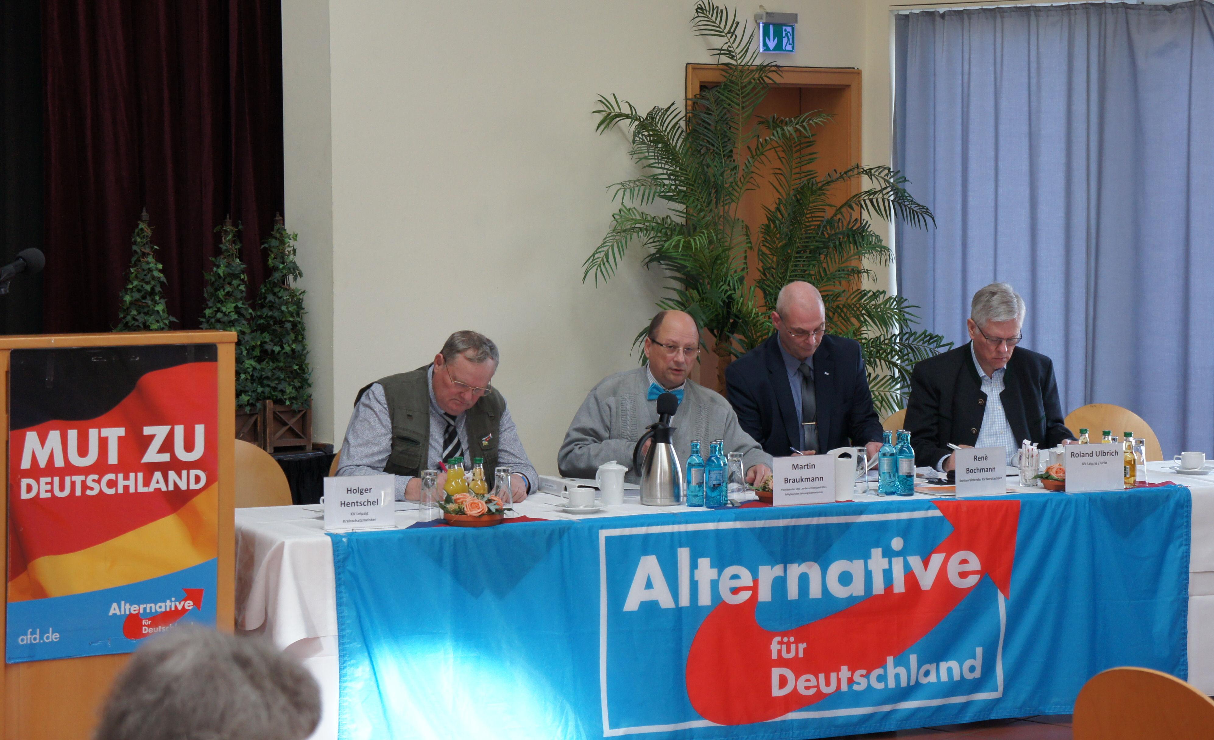 Aufstellungsversammlung der Kandidaten zum Kreistag, 23.02.2019 in Delitzsch
