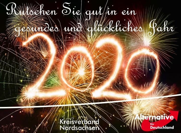 Beste Wünsche für 2020