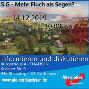 Gesprächsrunde zu G5 in Authausen
