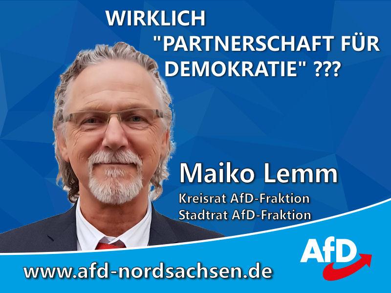 """Nachbetrachtung der """"Demokratiekonferenz"""" in Eilenburg"""